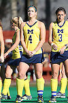 15 November 2015: Michigan's Caroline Chromik. The University of North Carolina Tar Heels played the University of Michigan Wolverines at Francis E. Henry Stadium in Chapel Hill, North Carolina in a 2015 NCAA Division I Field Hockey Tournament Quarterfinal match. UNC won the game 1-0.