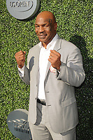 FLUSHING NY- AUGUST 29: Mike Tyson arrives during opening night ceremonys on Arthur Ashe Stadium at the USTA Billie Jean King National Tennis Center on August 29, 2016 in Flushing Queens. Photo by MPI04/MediaPunch