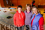 Joan Burke, Eileen Leane and Marie O'Neill, all from Causeway, enjoying an afternoon of Yoga at Ballyroe Heights Hotel, Tralee, on Sunday last, with funds raised going towards the restoration of the Shannon Ballroom in Causeway.