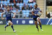 Joe Cokanasiga of Bath Rugby in possession. Heineken Champions Cup match, between Wasps and Bath Rugby on October 20, 2018 at the Ricoh Arena in Coventry, England. Photo by: Patrick Khachfe / Onside Images