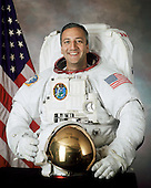 Houston, TX - (FILE) -- Official portrait of Astronaut Michael J. Massimino, mission specialist, STS-125 taken on September 24, 2001.  Massimino is scheduled to launch Monday, May 11, 2009 at 2:01 p.m. EDT aboard the Space Shuttle Atlantis for a mission to service the Hubble Space Telescope..Credit: NASA via CNP