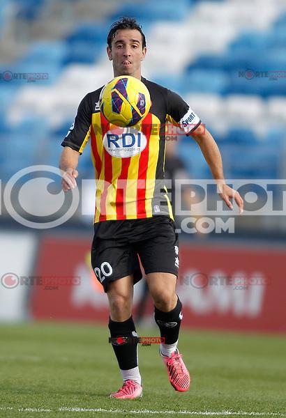 Girona's Alejandro Casto Jandro during La Liga match. January 13, 2013. (ALTERPHOTOS/Alvaro Hernandez)