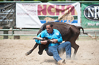 VHSRA - New Kent, VA - 6.10.2014 - Steer Wrestling