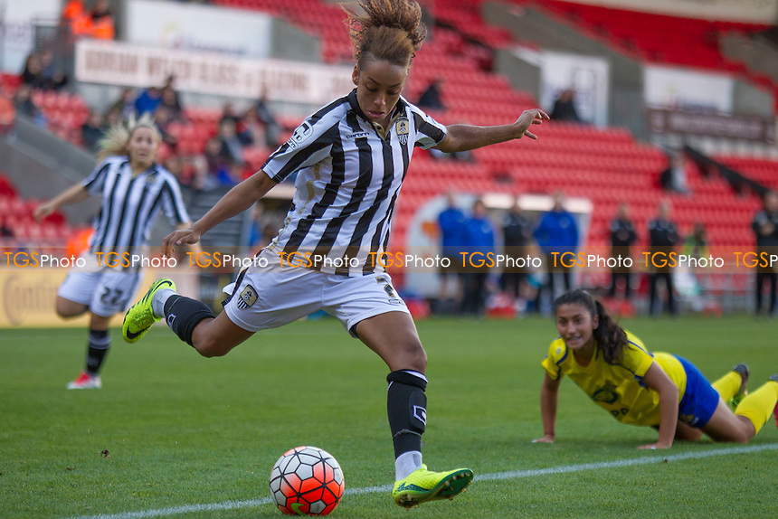 Jess Clarke (Notts County) during Doncaster Rovers Belles vs Notts County Ladies, FA Women's Super League FA WSL1 Football at the Keepmoat Stadium on 16th October 2016