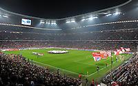 FUSSBALL   CHAMPIONS LEAGUE   SAISON 2011/2012  Achtelfinale Rueckspiel 13.03.2012 FC Bayern Muenchen - FC Basel  Stadionuebersicht der Allianz Arena