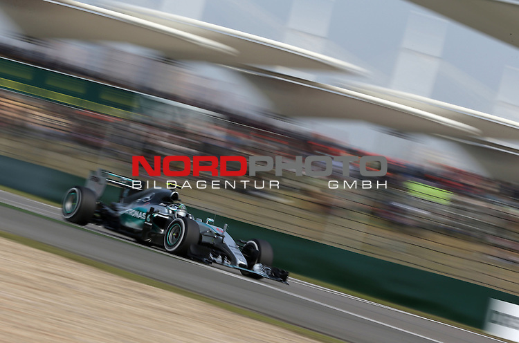 12.04.2015, Shanghai-International-Circuit, Schanghai, CHN, Gro&szlig;er Preis von China / Schanghai 2015, im Bild  Nico Rosberg (D),  Mercedes F1 Team. <br /> Shanghai International Circuit. <br />  Foto &copy; nph / Mathis