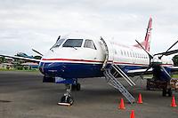 Commercial airplane, Air Panama, Bocas del Toro Airport,  Panama