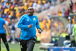 05.01.2019, FNB Stadion/Soccer City, Nasrec, Johannesburg, RSA, Premier League, Kaizer Chiefs vs Mamelodi Sundowns<br /> <br /> im Bild / picture shows <br /> <br /> Pitso Mosimane Trainer <br /> Torjubel / Jubel nach dem 1:2 Siegtreffer <br /> Einzelaktion, Ganzkörper / Ganzkoerper<br /> Gestik, Mimik,<br /> <br /> <br /> Foto © nordphoto / Kokenge