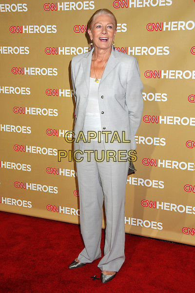 VANESSA REDGRAVE .CNN Heroes: An All-Star Tribute 2008 at the Kodak Theatre, Hollywood, CA, USA..November 22nd, 2008.full length grey gray trousers jacket white top suit .CAP/ADM/BP.©Byron Purvis/AdMedia/Capital Pictures.