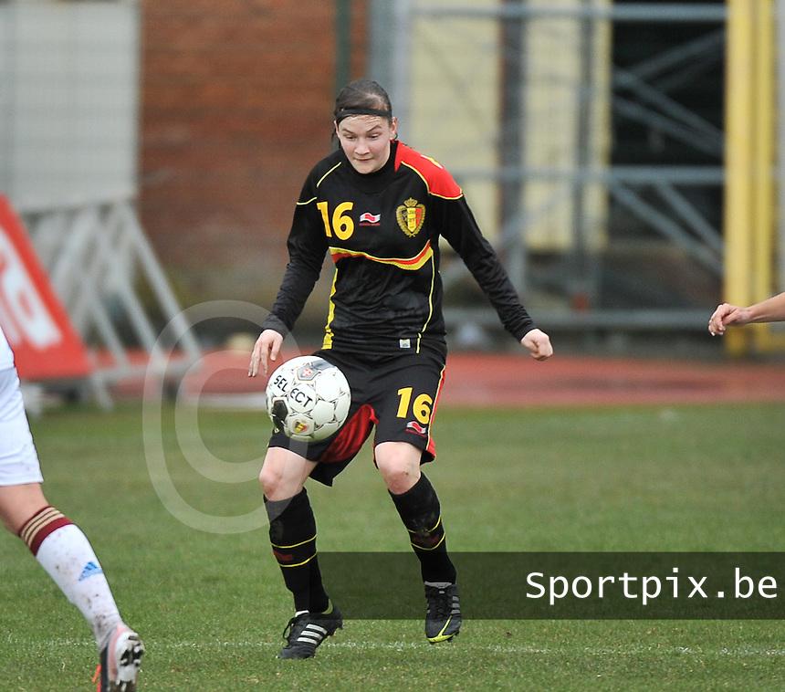Russia U19 - Belgium U19 : Elke Van Gorp.foto DAVID CATRY / Nikonpro.be