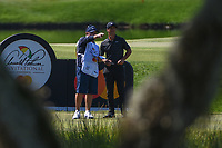 Thorbjorn Olesen (DEN) looks over his tee shot on 18 during round 2 of the Arnold Palmer Invitational at Bay Hill Golf Club, Bay Hill, Florida. 3/8/2019.<br /> Picture: Golffile | Ken Murray<br /> <br /> <br /> All photo usage must carry mandatory copyright credit (&copy; Golffile | Ken Murray)