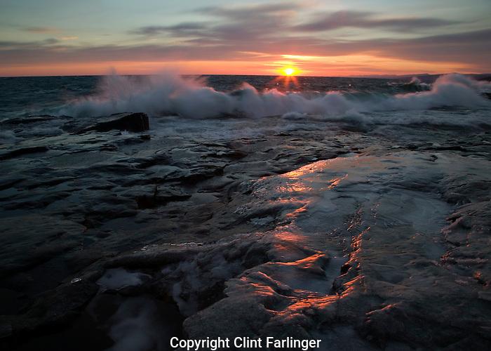 Lake Superior, Artist Point, Grand Marais (Cook County), Minnesota