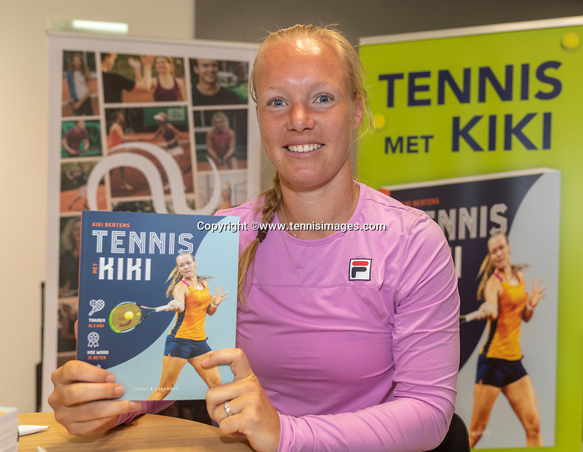 Amstelveen, Netherlands, 22 june 2020, NTC, National Tennis Center, Book presentation with Kiki Bertens