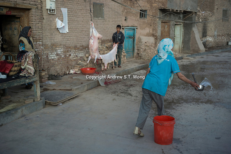 Kashi, Xinjiang Province, May 2014 - The Old City