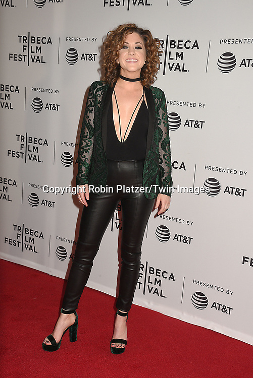 singers Stranger Friend's Jamie Floyd attends the Dog Years&quot; screening at the Tribeca Film Festival on April 22, 2017 at Cinepolis Chelsea in New York, New York, USA.<br /> <br /> photo by Robin Platzer/Twin Images<br />  <br /> phone number 212-935-0770