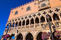 Italy Pavilion, World Showcase, Epcot, Walt Disney World, Orlando, Florida USA