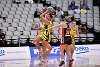 Central Manawa&rsquo;s Renee Savai&rsquo;inaea in action during the Beko Netball League - Central Manawa v Hellers Mainland at Fly Palmy Arena, Palmerston North, New Zealand on Sunday 10 March 2019. <br /> Photo by Masanori Udagawa. <br /> www.photowellington.photoshelter.com