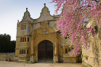 Gatehouse of Stanway House, Gloucestershire, United Kingdom