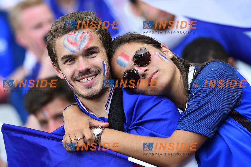 Tifosi Francia France supporters<br /> Paris 10-07-2016 Stade de France Football Euro2016 Portugal - France / Portogallo - Francia Finale / Final<br /> Foto Massimo Insabato / Insidefoto