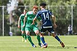 11.01.2019, Bidvest Stadion, Braampark, Johannesburg, RSA, FSP, SV Werder Bremen (GER) vs Bidvest Wits FC (ZA)<br /> <br /> im Bild / picture shows <br /> Joshua Sargent (Werder Bremen #19) im Duell / im Zweikampf mit Daylon Kayton Claasen (Bidvest Wits FC #14), <br /> <br /> Foto © nordphoto / Ewert