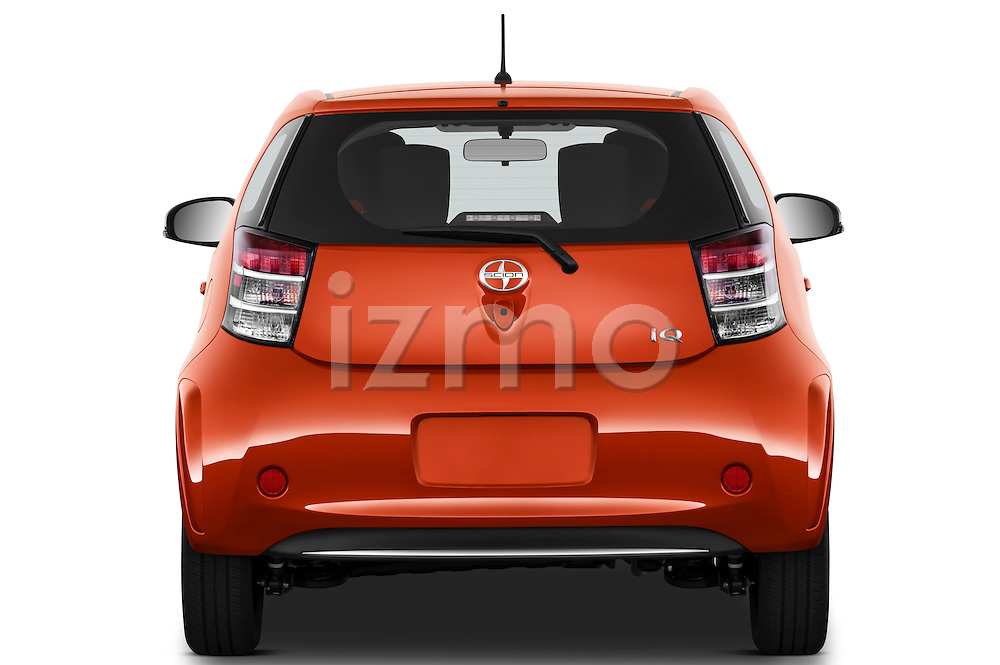 Straight rear view of a 2012 Scion IQ
