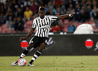 Calcio, Serie A: Napoli vs Juventus. Napoli, stadio San Paolo, 26 settembre 2015. <br /> Juventus&rsquo; Paul Pogba in action during the Italian Serie A football match between Napoli and Juventus at Naple's San Paolo stadium, 26 September 2015.<br /> UPDATE IMAGES PRESS/Isabella Bonotto<br /> <br /> *** ITALY AND GERMANY OUT ***