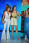 CORAL GABLES, FL - JULY 14: Karla Martínez and Ana Patricia Gámez attends the Univision's 13th Edition Of Premios Juventud Youth Awards at Bank United Center on July 14, 2016 in Coral Gablesi, Florida.  ( Photo by Johnny Louis / jlnphotography.com )