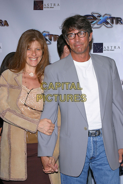 """Eric Roberts and Eliza Roberts.""""Extra"""" 11th Season Party held at the Lounge, Hollywood, California, USA, 7th October 2004 .half length .Ref: ADM.www.capitalpictures.com.sales@capitalpictures.com.©JW/AdMedia/Capital Pictures ."""