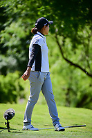 Ilhee Lee (KOR) drops her iron after her tee shot on 13 during round 1 of  the Volunteers of America Texas Shootout Presented by JTBC, at the Las Colinas Country Club in Irving, Texas, USA. 4/27/2017.<br /> Picture: Golffile | Ken Murray<br /> <br /> <br /> All photo usage must carry mandatory copyright credit (&copy; Golffile | Ken Murray)