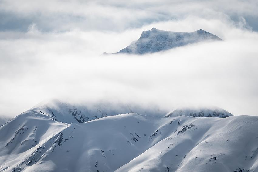 Chugach Mountains, Alaska. Photo by James R. Evans