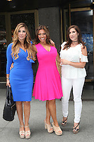 NEW YORK, NY - JULY 7: Siggy Flicker, Dolores Catania and Jacqueline Laurita seen on July 7, 2016 in New York City. Credit: DC/Media Punch