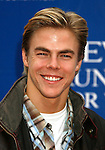 LOS ANGELES, CA. - May 09: Derek Hough arrives at the 16th Annual EIF Revlon Run/Walk For Women at the Los Angeles Memorial Coliseum on May 9, 2009 in Los Angeles, California.