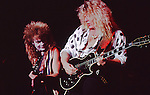 Blue Murder -Tony Franklin , John Sykes Tony Franklin in costume for Halloween.
