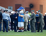 Broxi Bear with the armed forces