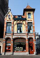 Banketbakkerij in Kampen. Art Nouveau