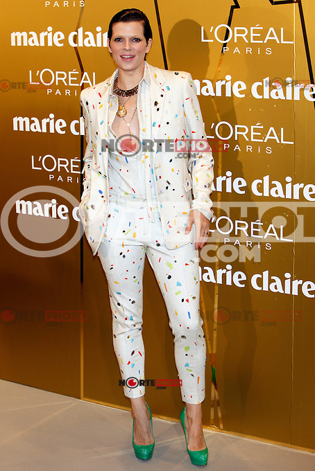 Bimba Bose attends Marie Claire Prix de la Moda awards 2012 at French Embassy in Madrid. November 22, 2012. (ALTERPHOTOS/Caro Marin) /NortePhoto