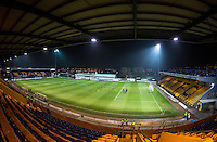 General view of the Stadium before the The Checkatrade Trophy  Quarter Final match between Mansfield Town and Wycombe Wanderers at the One Call Stadium, Mansfield, England on 24 January 2017. Photo by Andy Rowland.