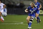 02 December 2011: Duke's Kaitlyn Kerr. The Duke University Blue Devils defeated the Wake Forest University Demon Deacons 4-1 at KSU Soccer Stadium in Kennesaw, Georgia in an NCAA Division I Women's Soccer College Cup semifinal game.