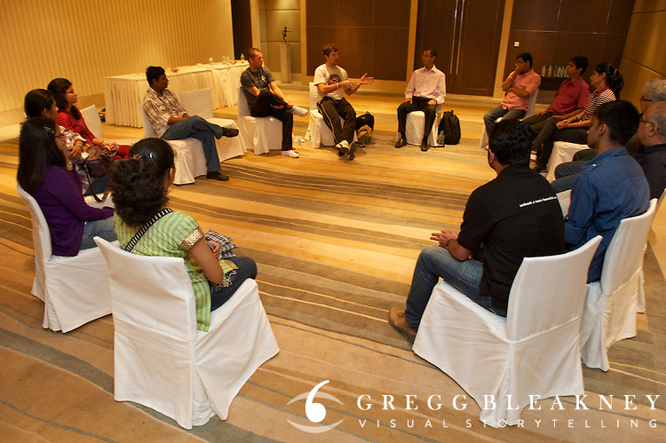 Team Type 1 Meeting with local Indian Diabetics - Mumbai