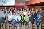 SILVER: Mike and Doreen Dunne who celebrated their 25th wedding anniversary in McElligott Bar, Ardfert with family and friends (Mike and Doreen 2nd and 3rd from right).....