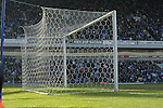 View of the net at the Darwin End - Blackburn Rovers v Arsenal - Premier League - Ewood Park Stadium - Blackburn - 15th March 2003<br />