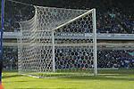 View of the net at the Darwin End - Blackburn Rovers v Arsenal - Premier League - Ewood Park Stadium - Blackburn - 15th March 2003<br />  - Pics Simon Bellis