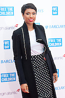 Jennifer Hudson at the We Day UK 2014 at Wembley Arena,  London. 07/03/2014 Picture by: Dave Norton / Featureflash
