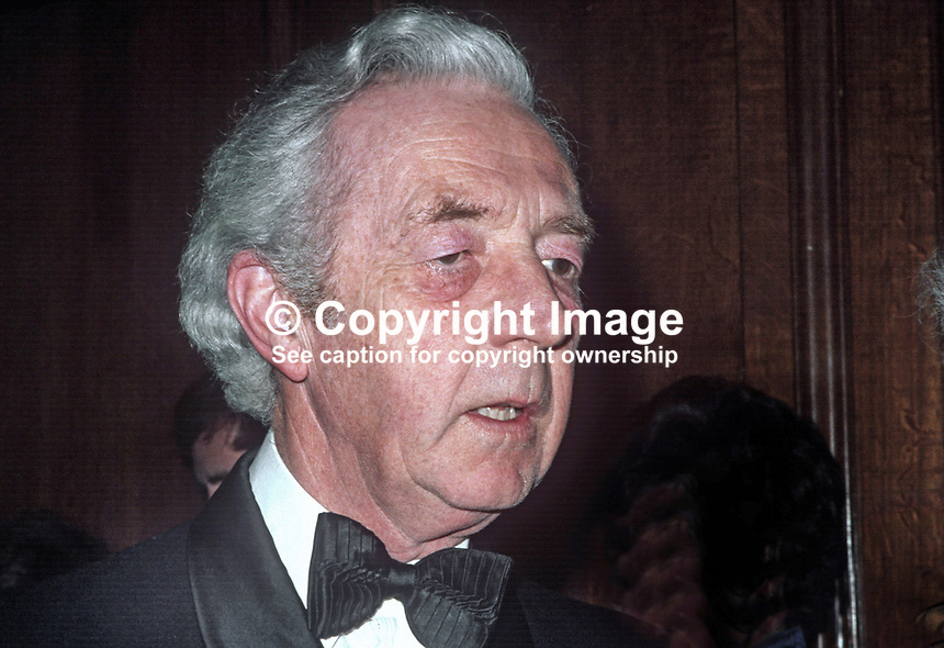 Lord Glentoran, 2nd Baron, Templepatrick, N Ireland, soldier, Ulster Unionist politician, 19750115031a.<br />