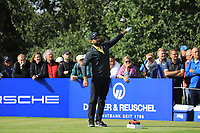 Alexander Levy (FRA) during the second round of the Porsche European Open , Green Eagle Golf Club, Hamburg, Germany. 06/09/2019<br /> Picture: Golffile | Phil Inglis<br /> <br /> <br /> All photo usage must carry mandatory copyright credit (© Golffile | Phil Inglis)
