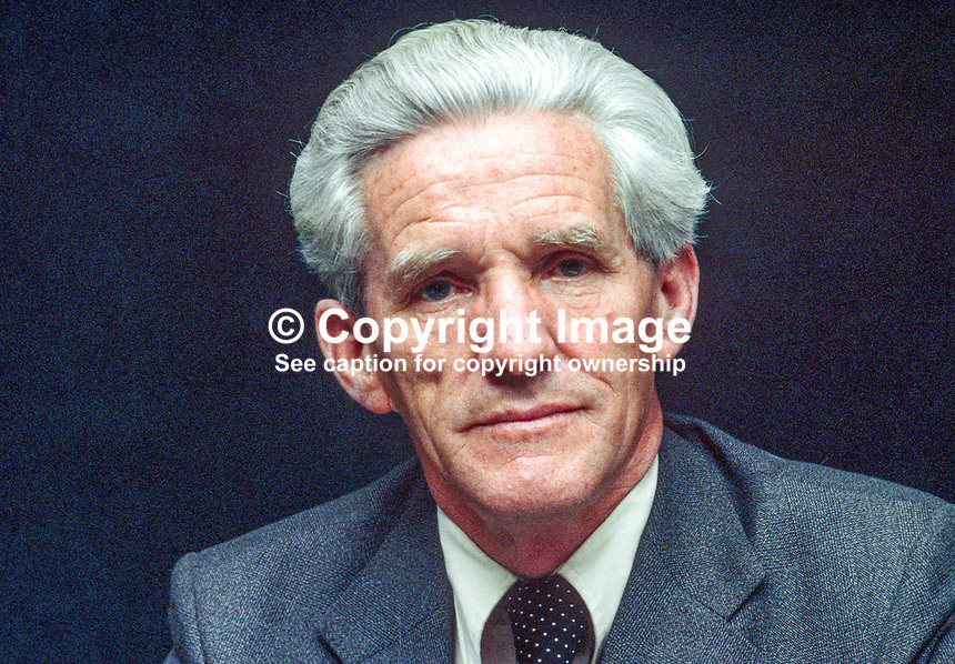 Charles H Murray, Governor, Central Bank of Ireland, Rep of Ireland, 197811000306CHM..Copyright Image from Victor Patterson, 54 Dorchester Park, Belfast, UK, BT9 6RJ..Tel: +44 28 9066 1296.Mob: +44 7802 353836.Voicemail +44 20 8816 7153.Skype: victorpattersonbelfast.Email: victorpatterson@mac.com.Email: victorpatterson@ireland.com (back-up)..IMPORTANT: If you wish to use this image or any other of my images please go to www.victorpatterson.com and click on the Terms & Conditions. Then contact me by email or phone with the reference number(s) of the image(s) concerned.