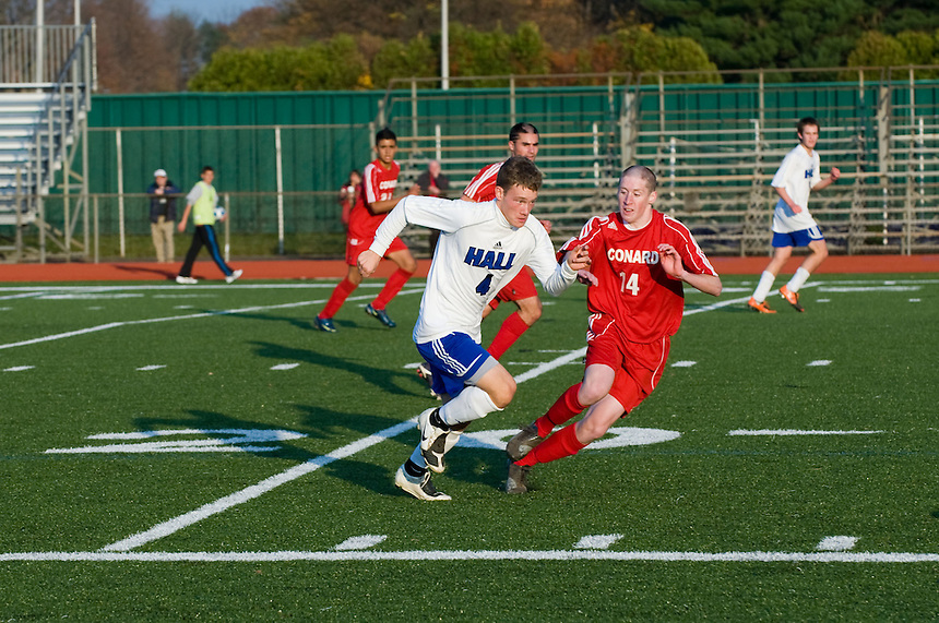 Hall High Varsity Soccer vs. Conard High