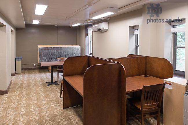 Aug. 19, 2015; Howard Hall after 2015 renovation work. (Photo by Matt Cashore/University of Notre Dame)