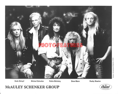 McAuley Schenker Group..photo from promoarchive.com/ Photofeatures....