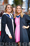 Ciara Kerin (Scartaglin) and Sharon Walsh (Cordal, Castleisland), who both graduated in Information Systems Management, from IT Tralee, at the Brandon Conference Centre, Tralee, on Friday last.